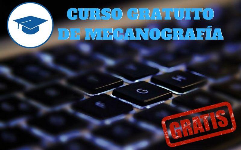 Curso gratuito de mecanografía en español en MecaGratis