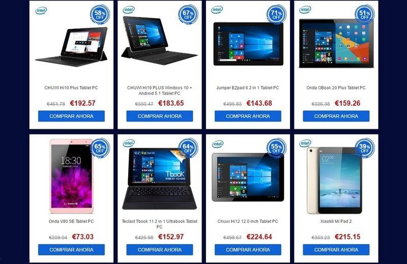 Algunas de las mejores tablets del mercado con descuentos - La mejor campana extractora del mercado ...
