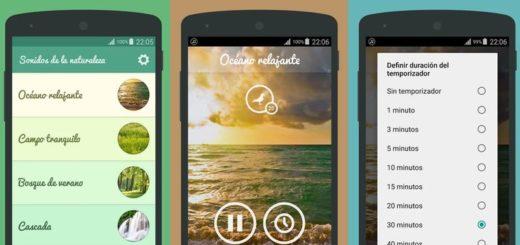 Escuchar sonidos de la naturaleza en tu Android con esta app gratuita