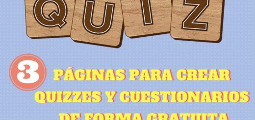 3 páginas para crear Quizzes y Cuestionarios online de forma gratuita