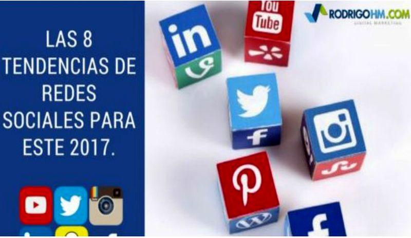 Tendencias 2017 en Redes Sociales