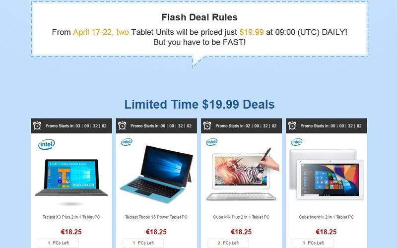Comprar las mejores tabletas económicas aprovechando una promoción única