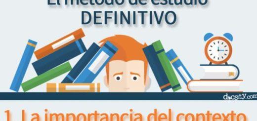 Mejor forma de estudiar para lograr un aprendizaje adecuado