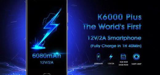Oukitel K6000 Plus: smartphone con Android 7.0, ROM de 64GB y batería de 6080mAh