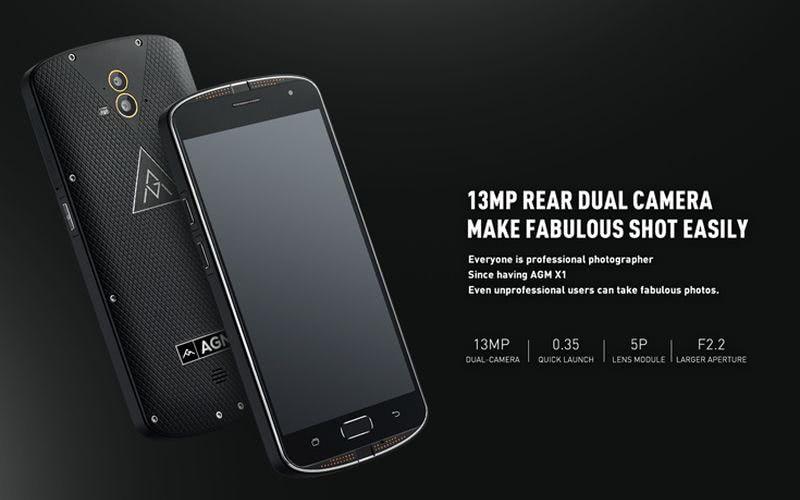 AGM X1: espectacular teléfono, ahora con $48 de descuento