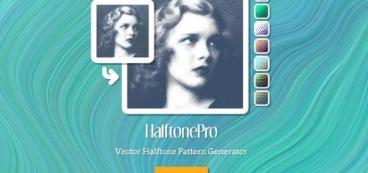 HalftonePro: web para decorar tus fotos con bellos patrones de fondo
