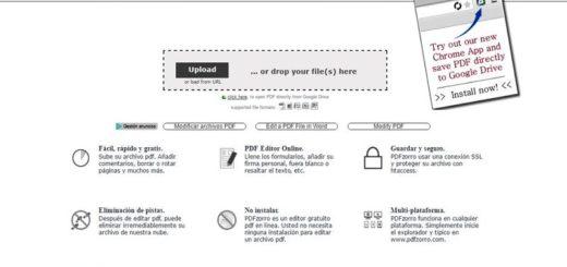 PDFzorro: excelente editor gratuito de documentos PDF