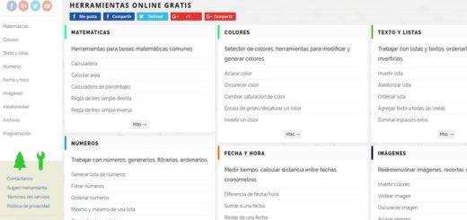 PineTools: la mayor colección de aplicaciones web para todo tipo de tareas