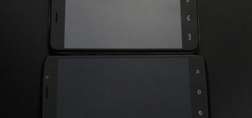 Smartphone Uhans A6 con pantalla completamente laminada