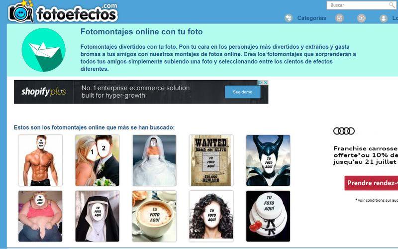 Crear fotomontajes gratis online Fotoefectos Crear fotomontajes gratis online con estas 10 páginas