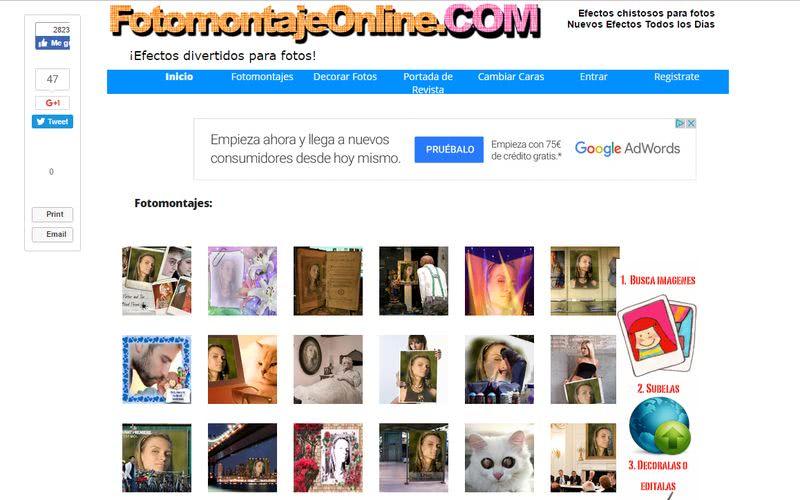 Crear fotomontajes gratis online con estas 10 páginas
