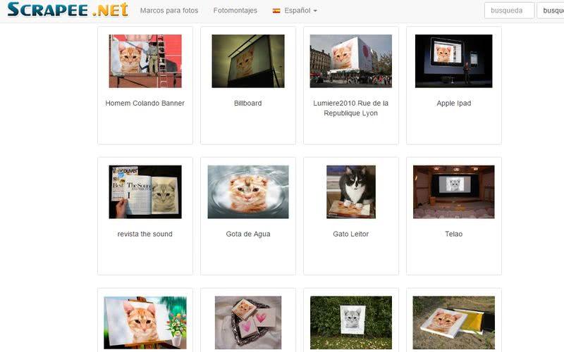 Crear fotomontajes gratis online Scrapee Crear fotomontajes gratis online con estas 10 páginas
