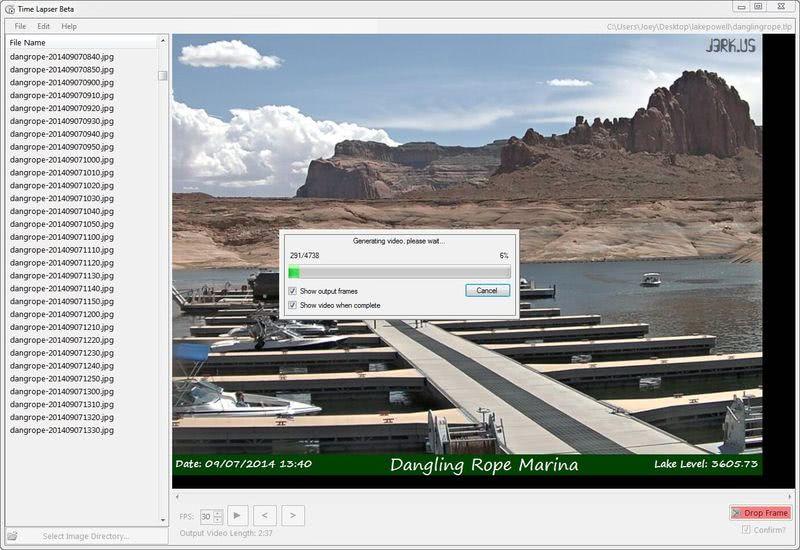 Crear vídeos Time Lapse fácilmente con este software gratuito