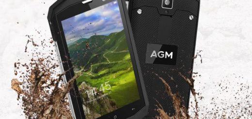 Nueva versión del teléfono AGM A8 con 4 GB de RAM y 64 GB de ROM