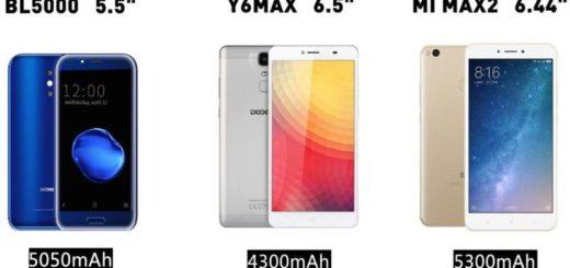 Teléfono inteligente BL5000 con gran batería y pantalla de 5.5