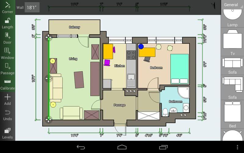 3 apps android para crear planos de interiores de forma