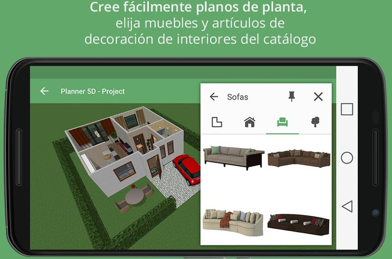 3 apps android para crear planos de interiores de forma for App decoracion interiores