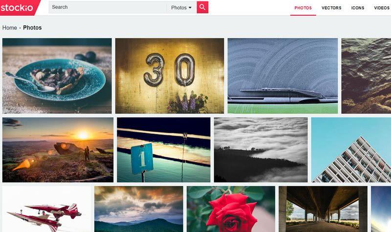 Stockio: miles de imágenes, iconos, vectores, vídeos y fuentes gratuitas