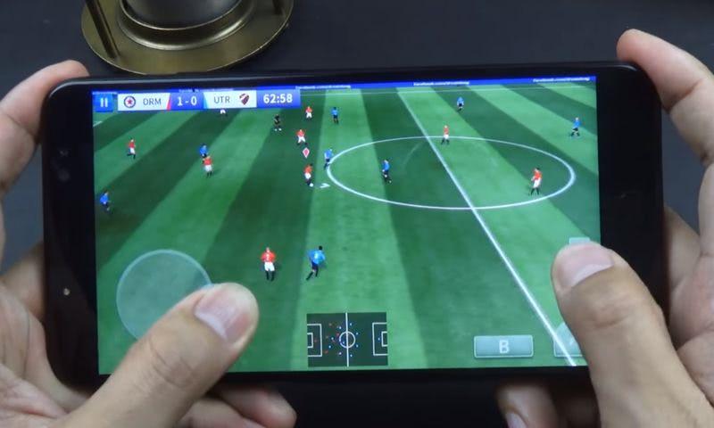 """Teléfono UHANS Max 2: gran experiencia de juego en pantalla de 6.44"""""""