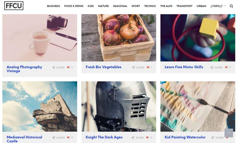 Banco de imágenes gratuitas de alta calidad en dominio público