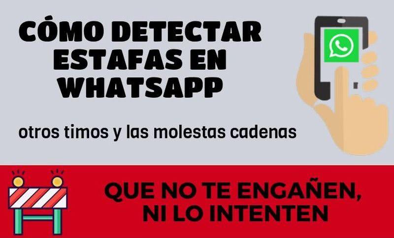 Cómo detectar estafas en WhatsApp