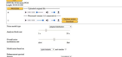 Cómo eliminar ruido de fondo de un audio con una aplicación web