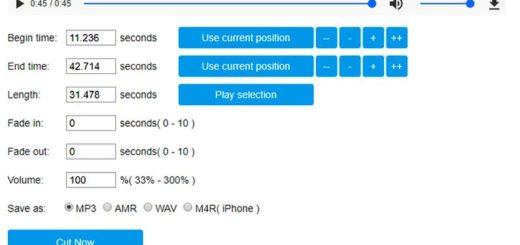 Cortar Mp3 online gratis con una excelente aplicación web