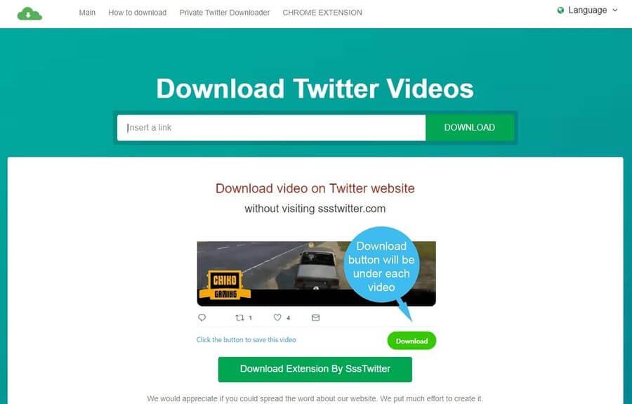 Descargar vídeos de Twitter fácilmente con estas 3 aplicaciones web