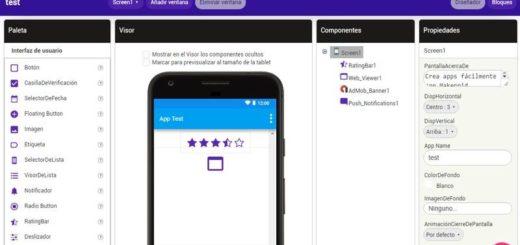 Makeroid: utilidad web gratuita para crear apps Android sin programar