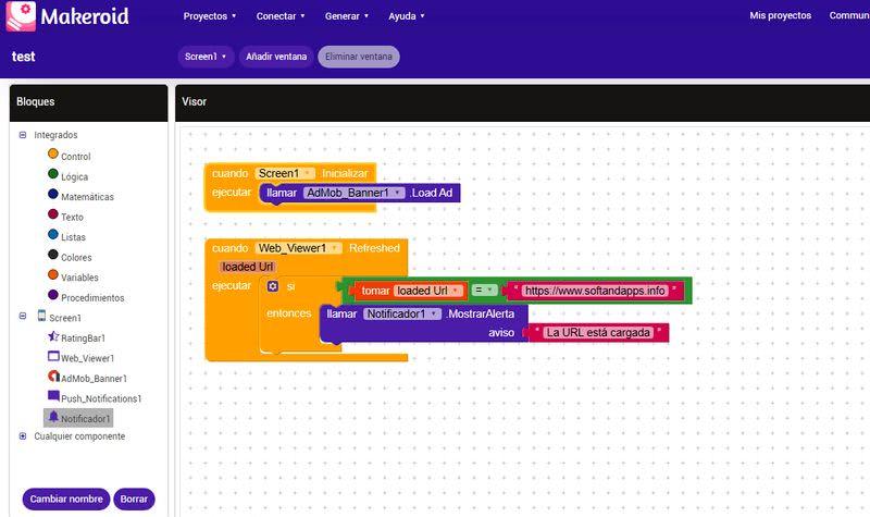Makeroid: utilidad web gratuita para crear apps Android