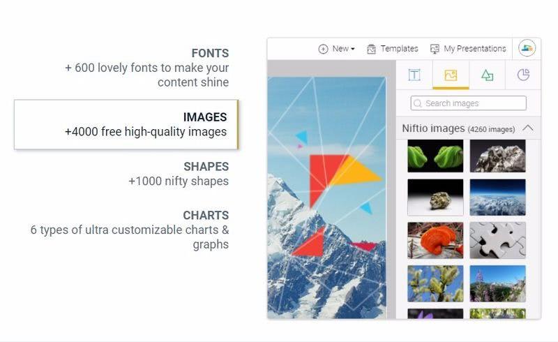 Niftio crear presentaciones Niftio: nueva utilidad web gratuita para crear presentaciones profesionales