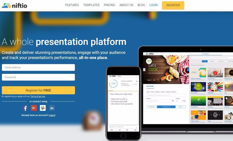 Niftio Niftio: nueva utilidad web gratuita para crear presentaciones profesionales