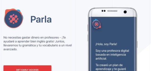 Parla: la app móvil con Inteligencia Artificial para aprender inglés