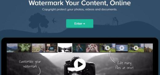 Añadir marcas de agua a vídeos e imágenes con esta aplicación web