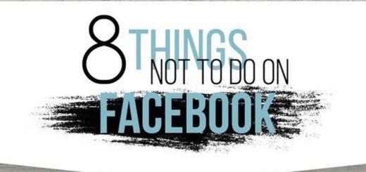 Cosas que no tienes que hacer en Facebook para una estrategia acertada