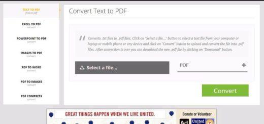 Tradekare: 7 aplicaciones web para convertir y comprimir archivos PDF