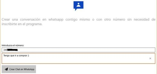 WhatsMy: app Windows 10 para enviar mensajes de WhatsApp a ti mismo