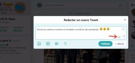 Cómo mostrar un contador de 280 caracteres para Twitter