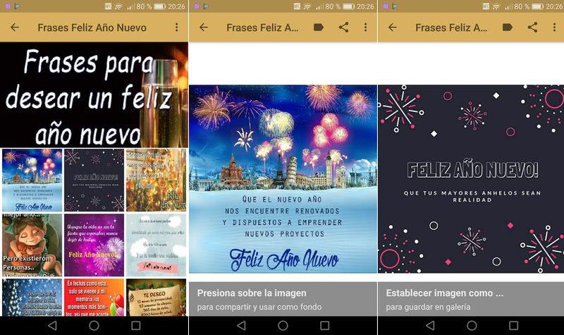3 Aplicaciones Para Felicitar Año Nuevo Desde Tu Android