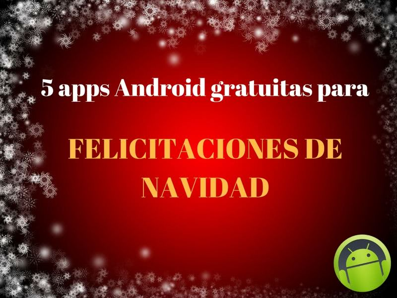 App android felicitacion navidad