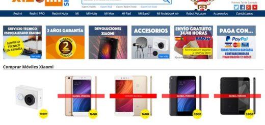 XiaoMi España: página para comprar XiaoMi en España con garantía oficial