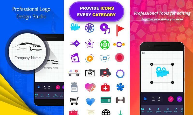 App gratis para crear logos directamente en tu dispositivo Android