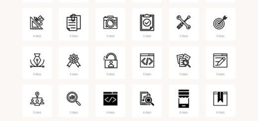 Cientos de iconos gratuitos para usar libremente en tus proyectos