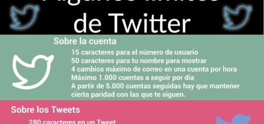Limitaciones de Twitter en cifras que resultan curiosas