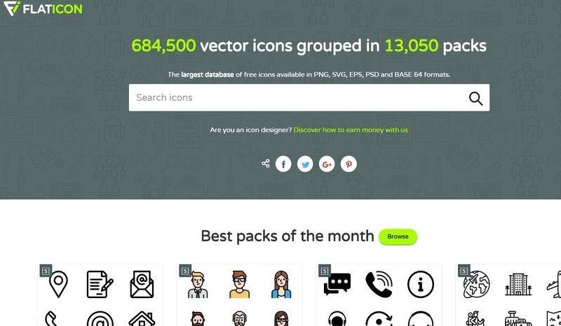 Millones de iconos gratis Flaticon 5 páginas con millones de iconos gratis para descargar