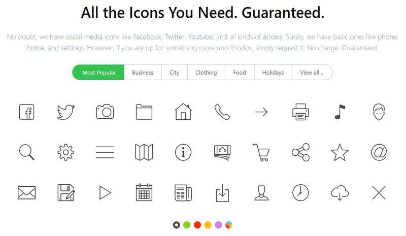 Millones de iconos gratis Icons8 5 páginas con millones de iconos gratis para descargar