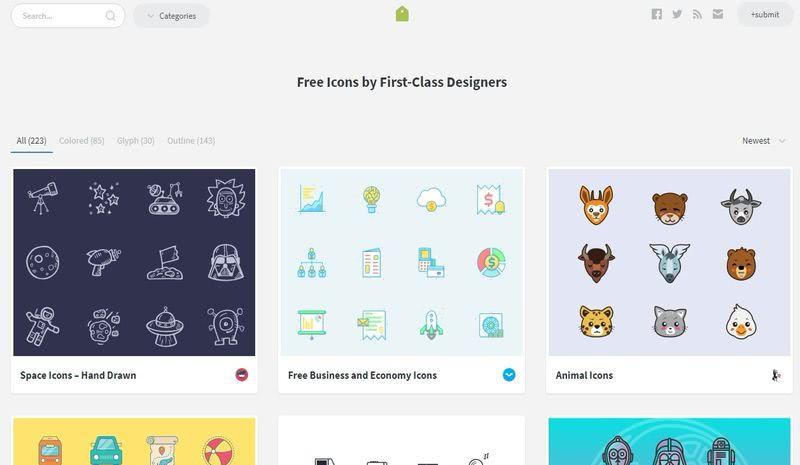 Millones de iconos gratis Iconstore 5 páginas con millones de iconos gratis para descargar