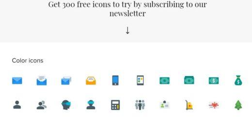 Pack con 300 iconos gratuitos listos para descargar