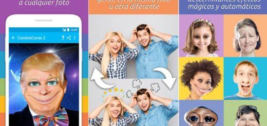 Cambia Caras 2: la app Android que hace más divertida cualquier foto