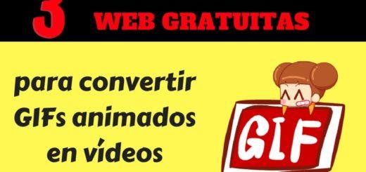 Convertir GIFs en vídeos con estas 3 aplicaciones web gratuitas